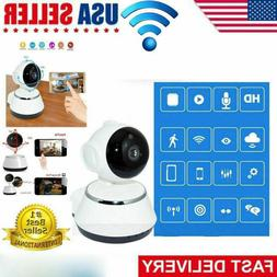 HD Wifi IP Camera Webcam Baby Pet Monitor CAM Pan Wireless R