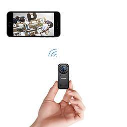 FREDI Hidden Camera 1080p HD Mini WiFi Camera spy Camera Wir