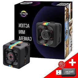Hidden Spy Camera 1080P Mini Security Wireless cam with Nigh