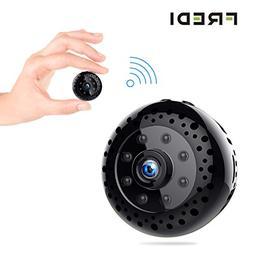 Hidden Spy Camera, FREDI Mini WiFi HD 1080P Wireless Securit