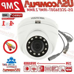 Hikvision 2MP dome DS-2CE56D0T-IRMF HD-Camera TurboHD 2.8mm