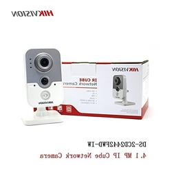 Hikvision IP Camera 4MP PoE Indoor IR Wireless WiFi Cube Cam