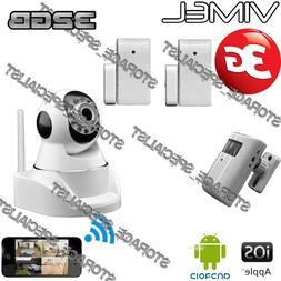 Home Security Camera 3G GSM Wireless Alarm System Farm Remot