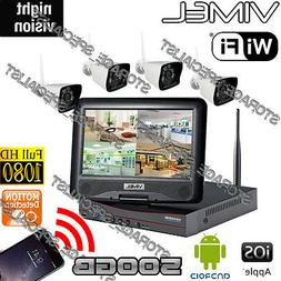 Home Security System Camera 500GB IP Wireless Farm House Rem