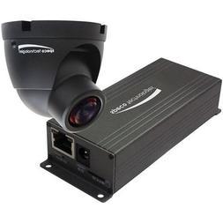 Speco 1080p Indoor Mini Turret IP Camera, Fixed Lens, Color,