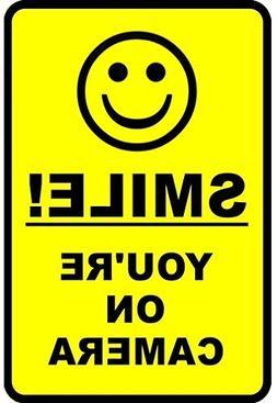 "Outdoor/Indoor 8.27"" high x 5.51"" wide Home Business SMILE Y"