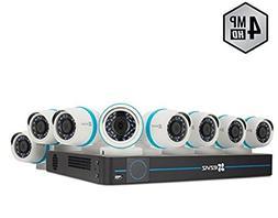 EZVIZ Outdoor 4MP IP PoE Video Security Surveillance System,