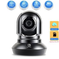 JOOAN Security Camera 2.4G WiFi Supports 2 Way Talk and Remo
