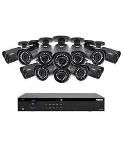 Lorex 16 Channel 4K 4MP IP Security System with NR9163 NVR a