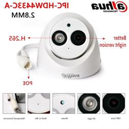 Dahua  IPC-HDW4433C-A 2.8MM 4MP POE H.265 Bulit-MIC IR CCTV