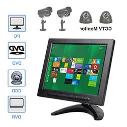 ALON 8 inch IPS CCTV Monitor with Remote Control TFT Color V
