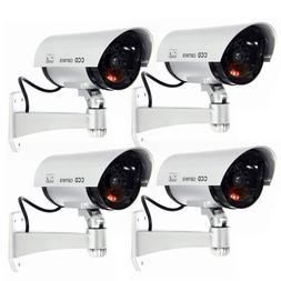 4 Pack IR Bullet Fake Dummy Surveillance Security Camera CCT