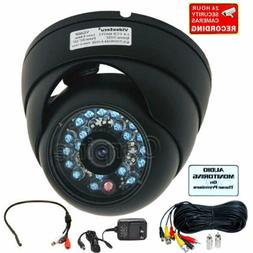Security Dome Camera Wide Angle IR Night Vision CCD & Microp