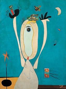 Joan Miró - Metamorphosis, Canvas Art Print, Size 18x24, No