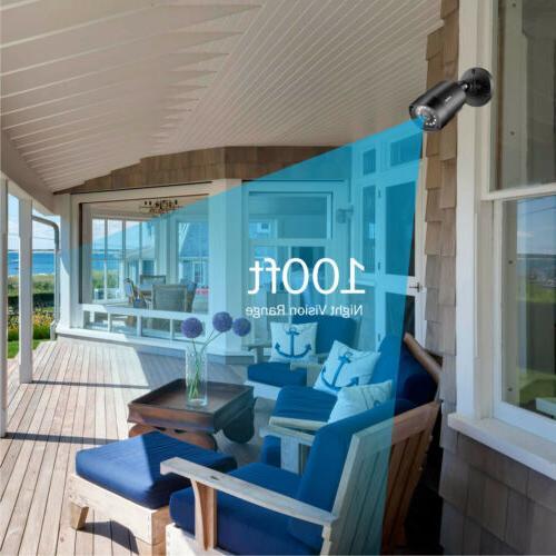 ANNKE HD CCTV Cameras Surveillance System Kit