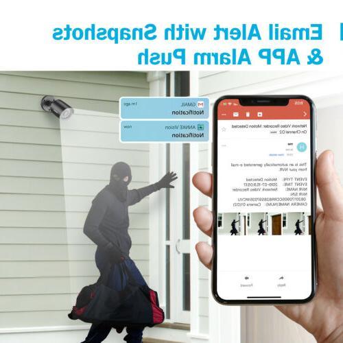 ANNKE HD Cameras Indoor/Outdoor Surveillance Kit