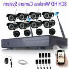 1080p 8ch nvr ip wireless security camera