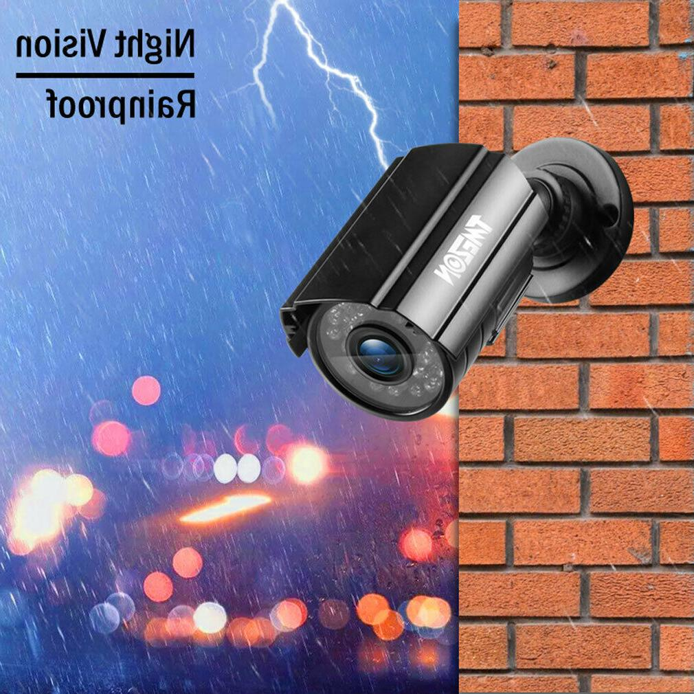 1080P CCTV Camera Outdoor 2.0MP 4IN1 Metal Security Camera 24Led