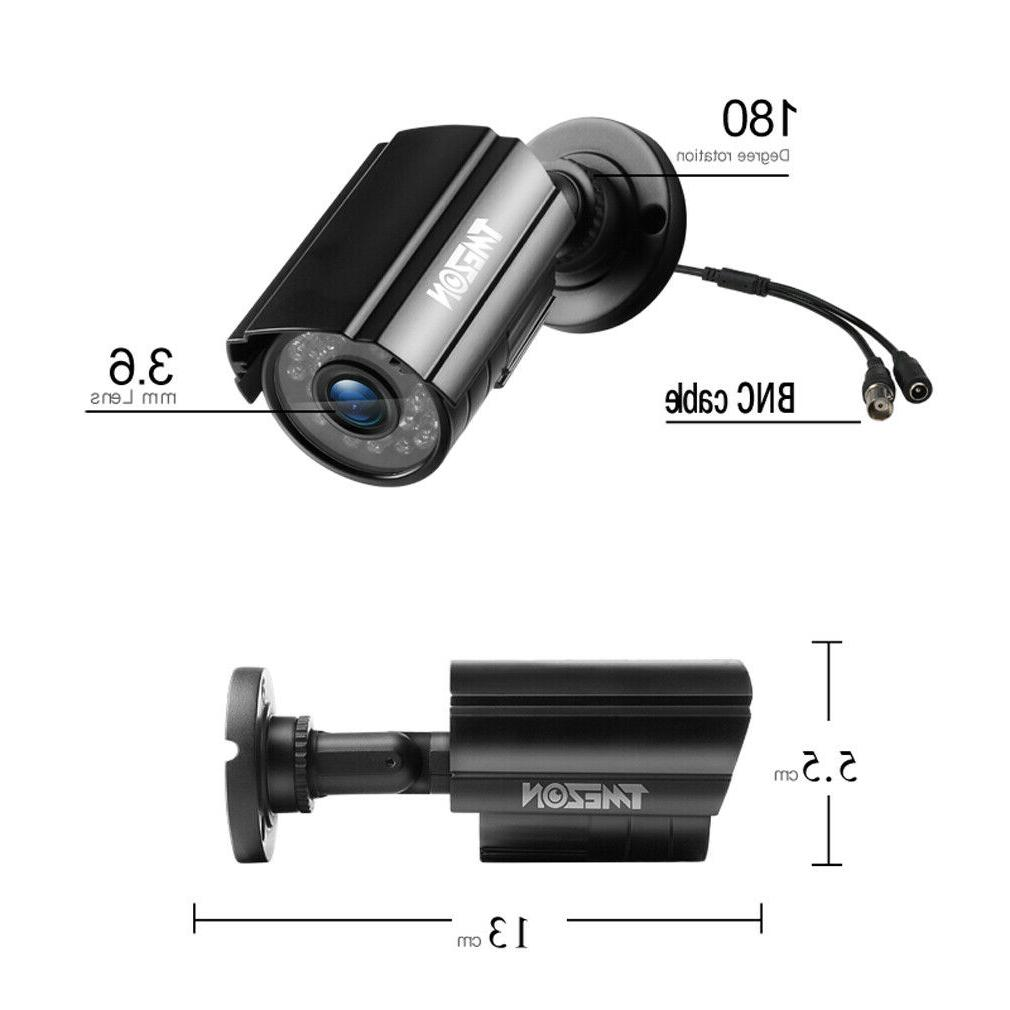 1080P Outdoor 2.0MP 4IN1 Metal Security 24Led