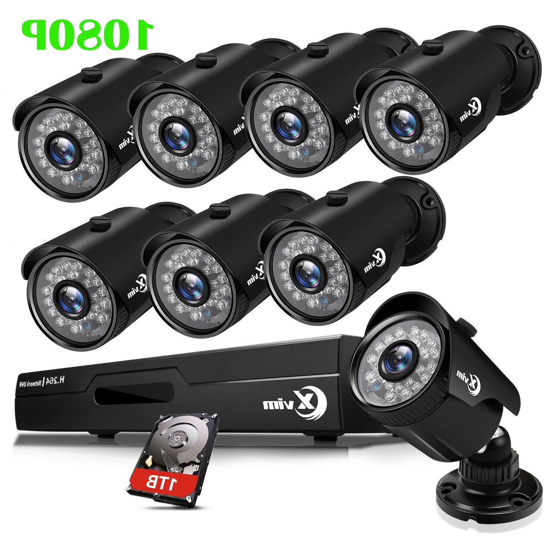 1080p cctv security camera system hdmi 4ch