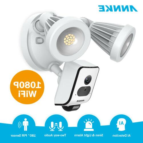 1080p floodlight security camera motion activated 2