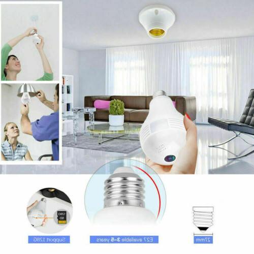 1080P Panoramic IP Lamp Security