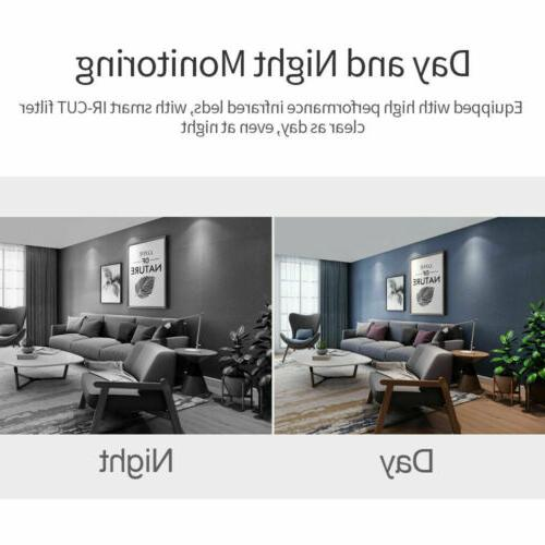 1080P HD Wi-Fi IR Home Monitor