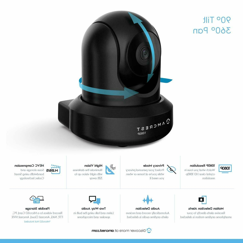 Amcrest 1080P IP2M-841B IP WiFi Wireless Video Surveillance