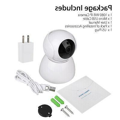 1080P Smart Security IP Camera Wireless CCTV IR Baby