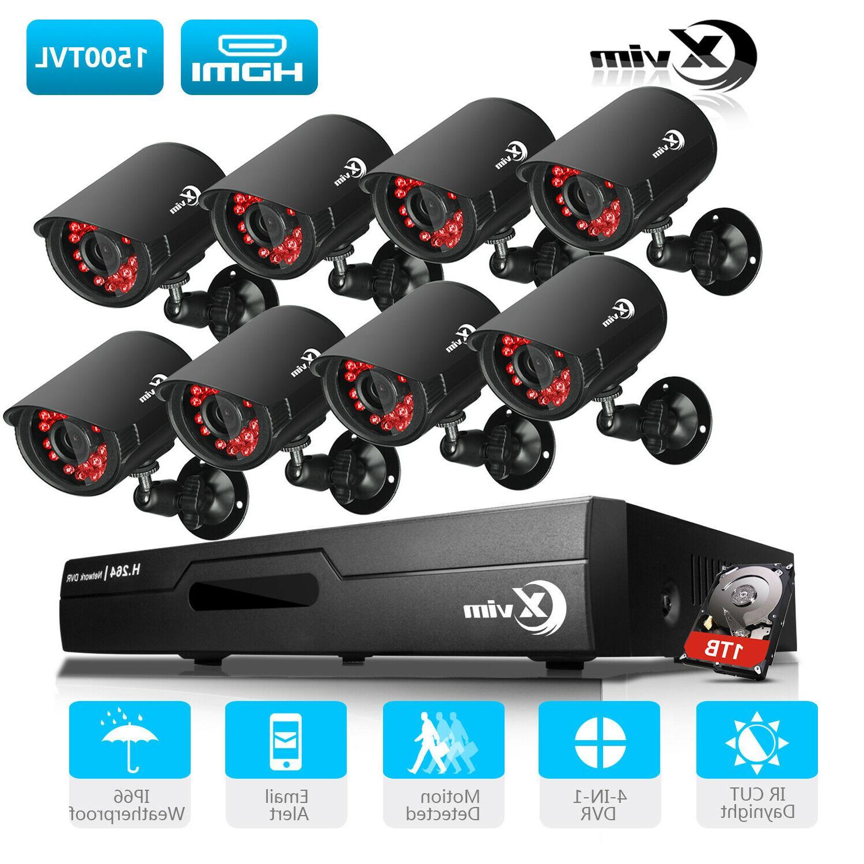 1080p hdmi 8ch 4ch dvr indoor outdoor