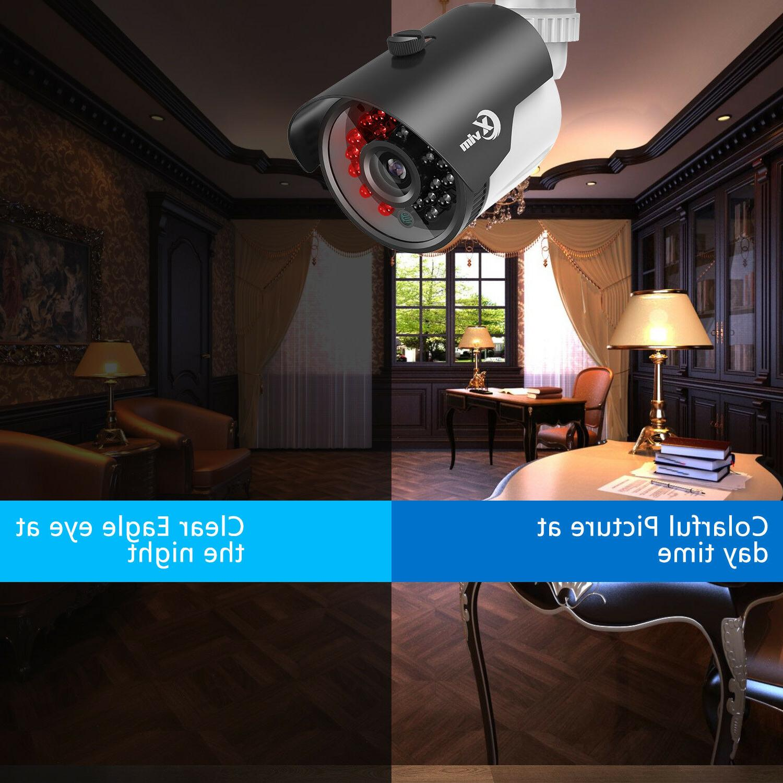 XVIM 1080P CCTV DVR IR Security Camera System 1TB
