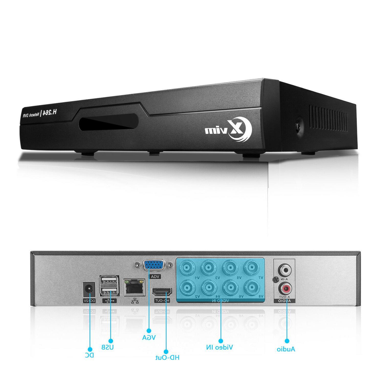XVIM 1080P HDMI CCTV Outdoor Night Camera System