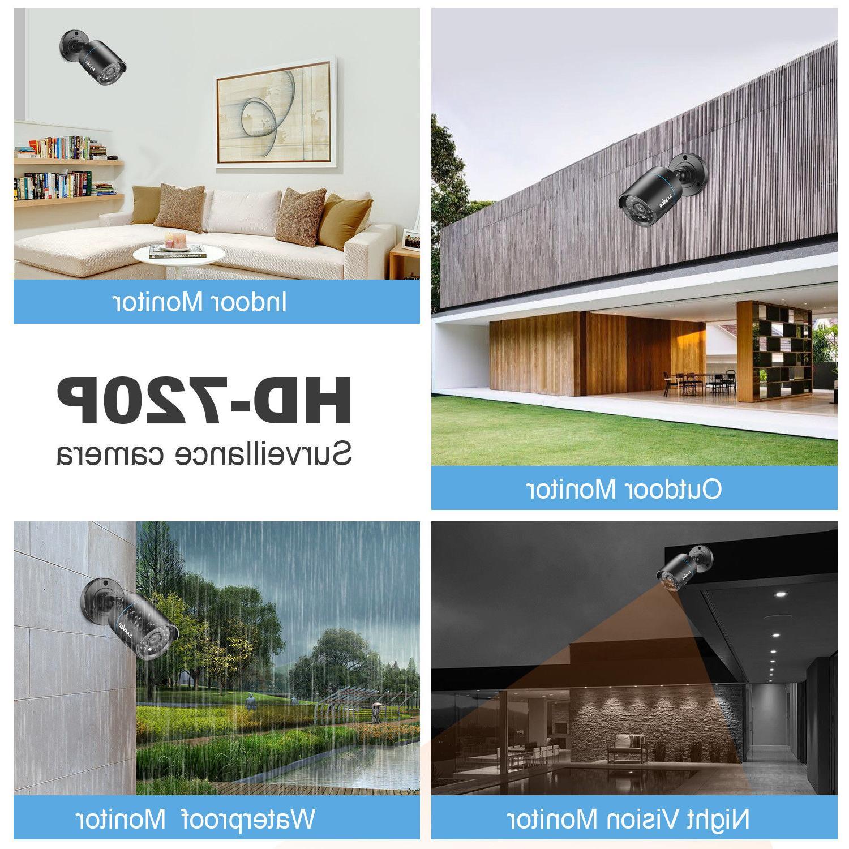 SANNCE 1080P HD-TVI 8CH / 4CH DVR IR Camera System