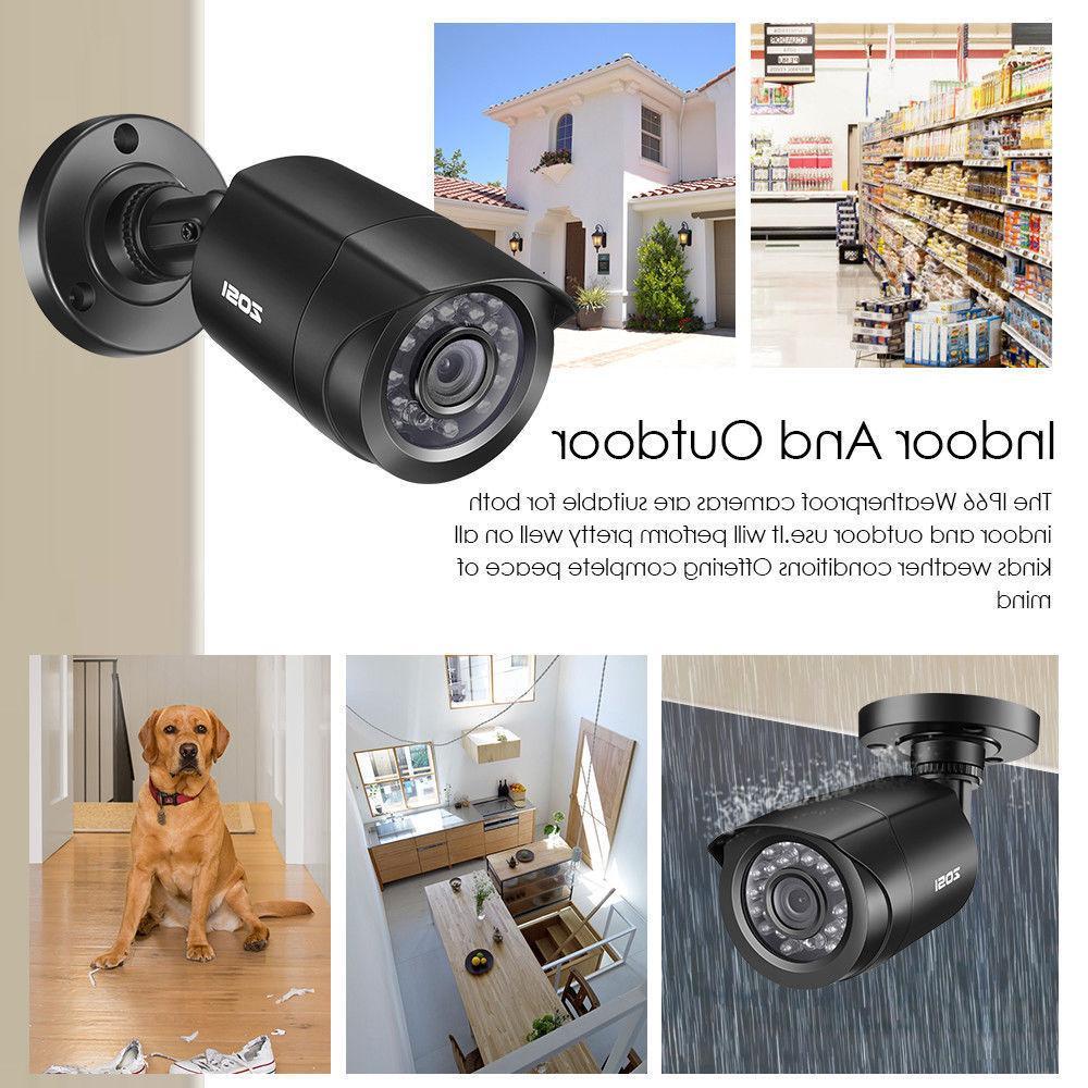 ZOSI 1080P HDMI 8CH DVR 720p CCTV Home Security System