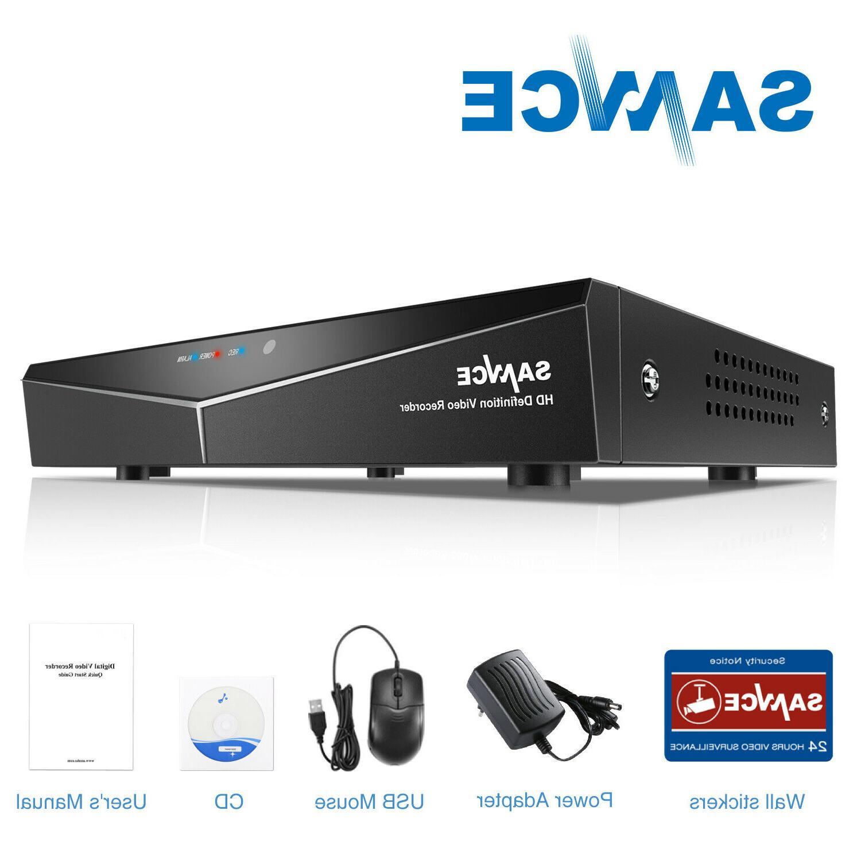 SANNCE 1080P HDMI 8CH / IR CUT Security