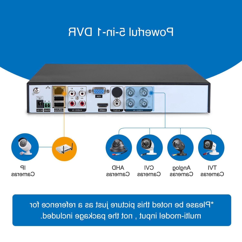 SANNCE 8CH IR CUT CCTV Camera System