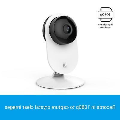 YI 1080p Camera, Indoor Surveillance System with Night