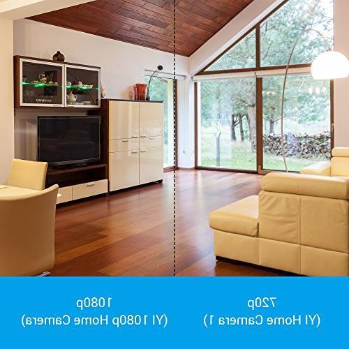 YI 1080p Home Camera Wireless System White