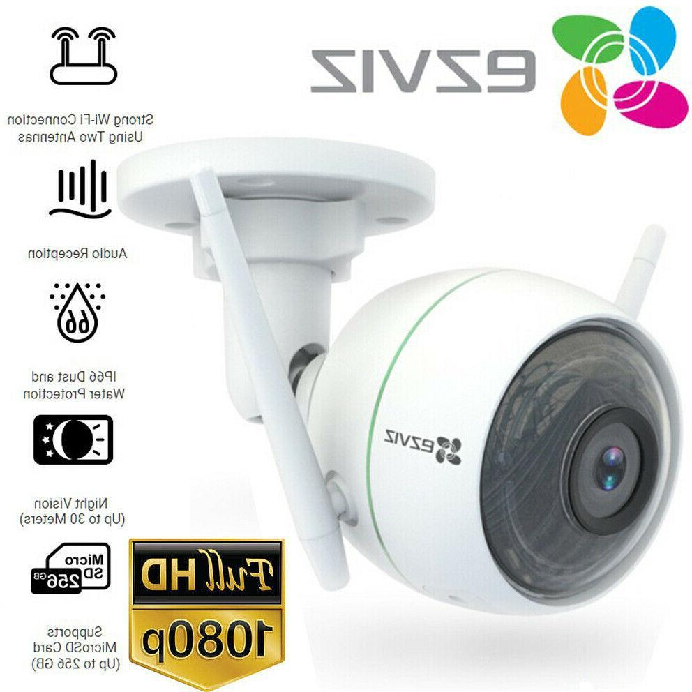 1080p outdoor wifi bullet camera weatherproof smart