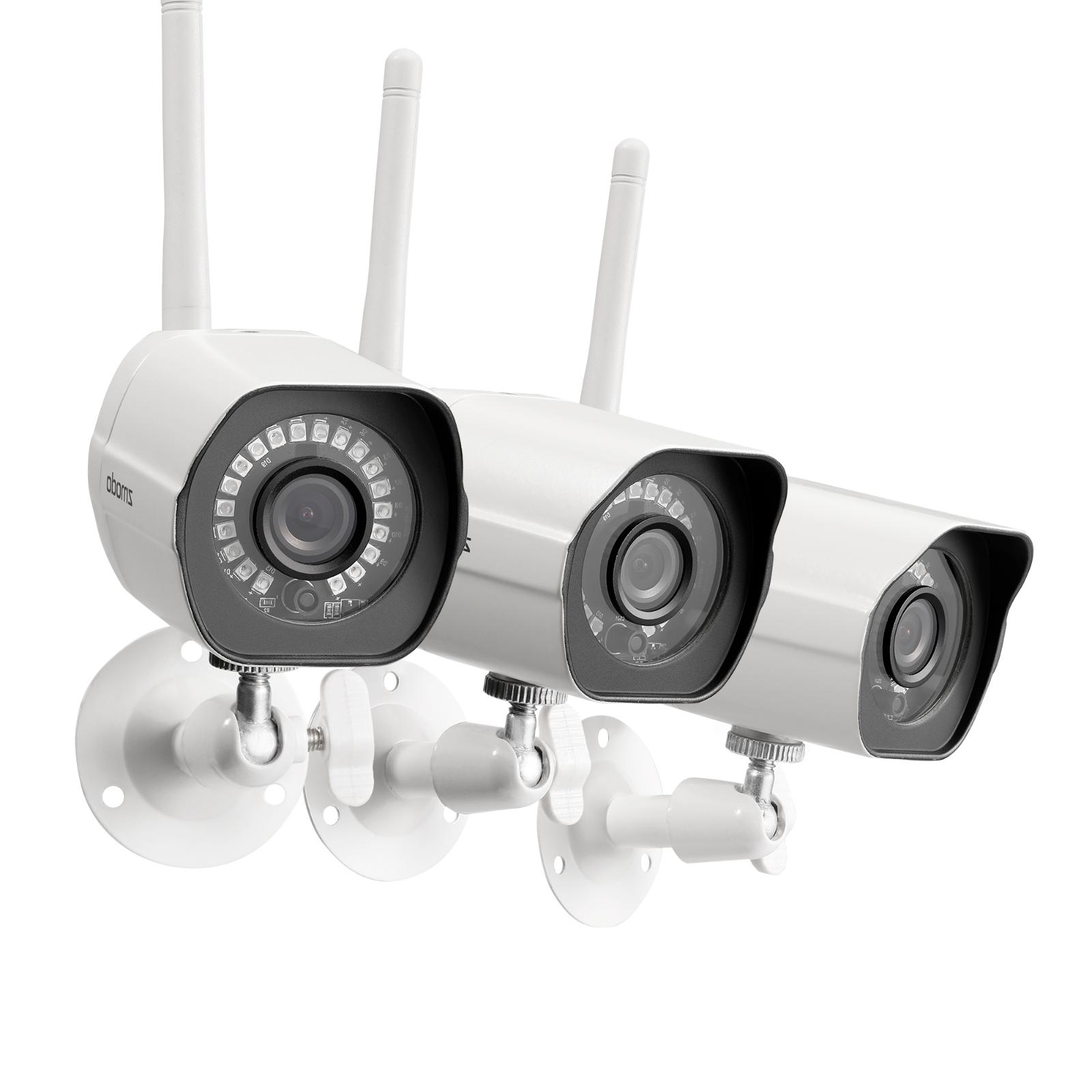 Zmodo 1080p CCTV Wireless Security Bullet IP Camera SystemOu
