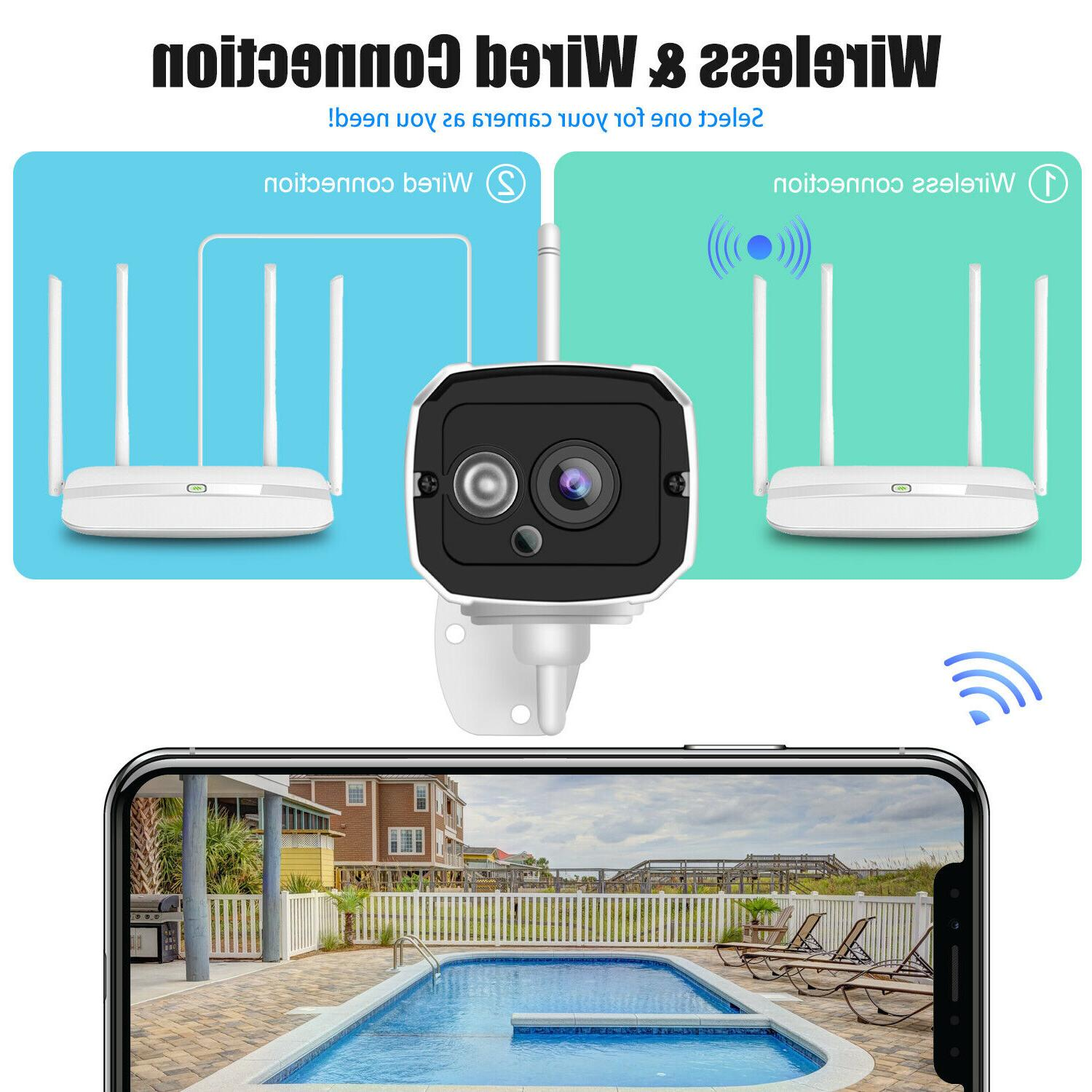1080P Security Camera Video Waterproof Home Detection