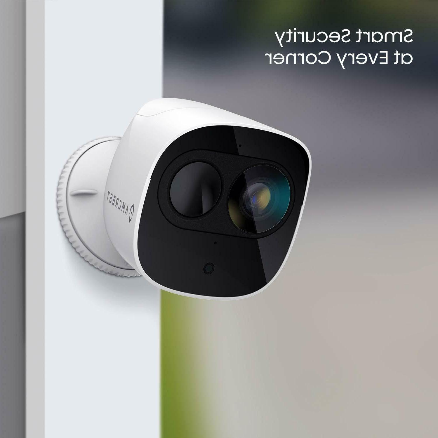 Amcrest Home Battery Security Camera Wireless System