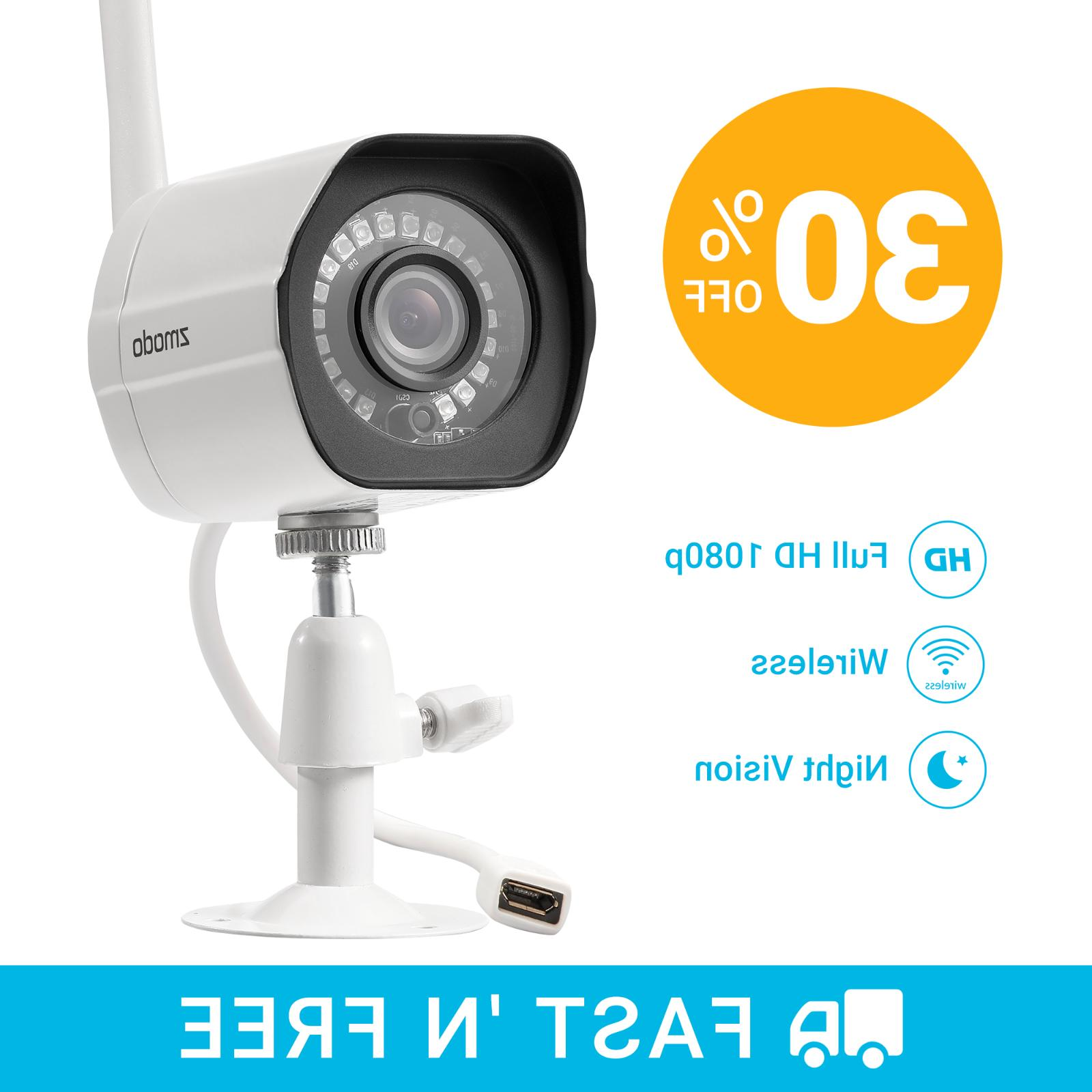 Zmodo 1080p Wireless Home Camera,Night Remote