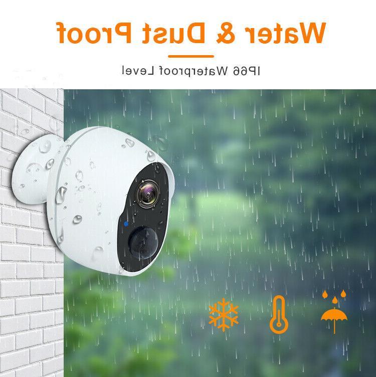 1080P Wireless Security Indoor Rechargeable