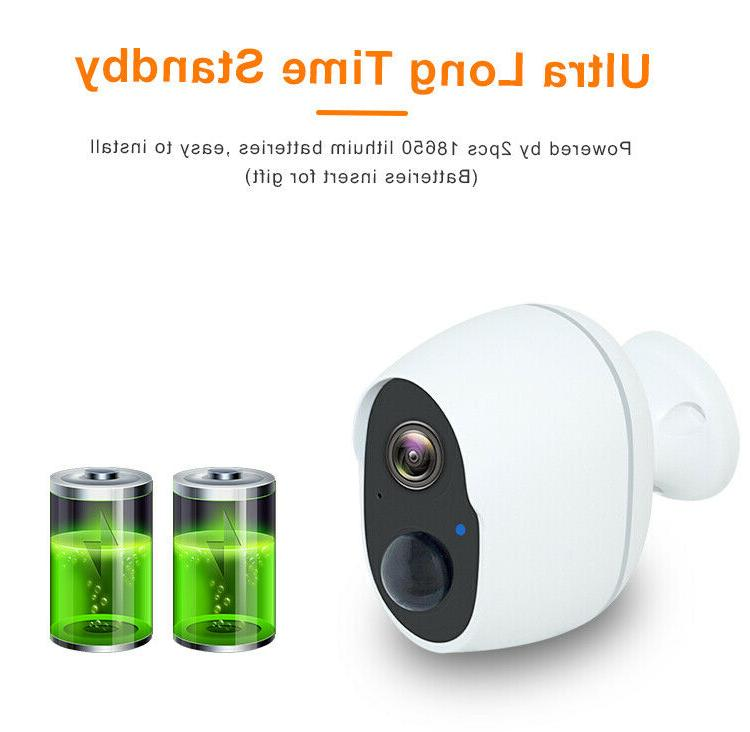 1080P Security Camera Indoor Rechargeable Battery Powered