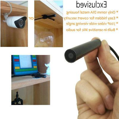 10MM Mini Camera w/ Covert Surveillance Spy