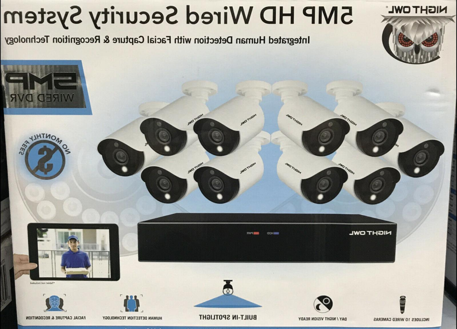 new 16 channel 5mp hd wired security