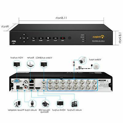 1080P DVR for Home Security System