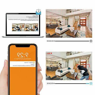 16 H.265+ 1080P CCTV DVR for Home Security Camera System
