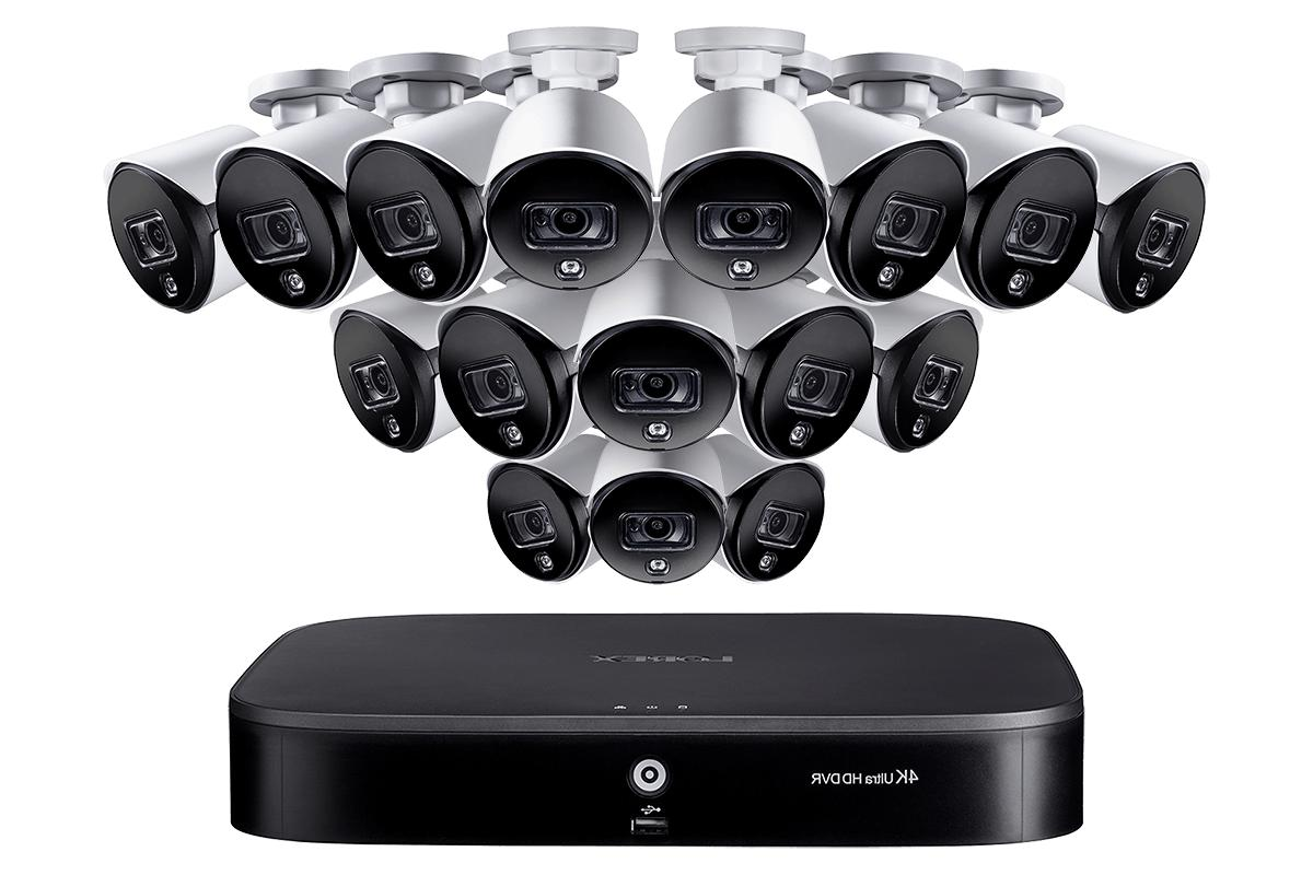 16 channel security system with 16 5mp